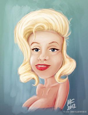 Portrait-Skizze