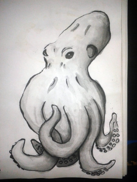inktober-octopus