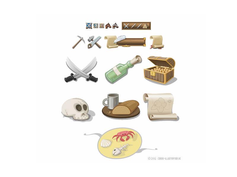 Verschiedene Icons für ein Browserspiel