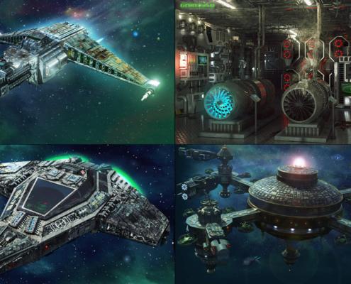 SciFi Spielegrafiken
