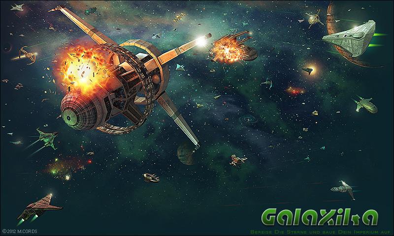 Galaxika-Weltraumschlacht