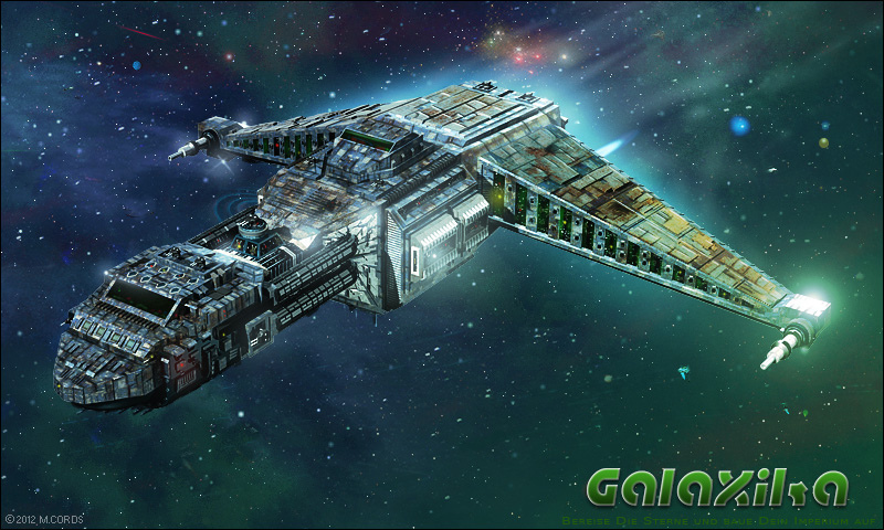 Galaxika-Raumschiffmodell-1